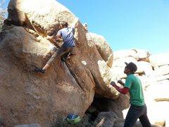 Rock Climbing Photo: fun line