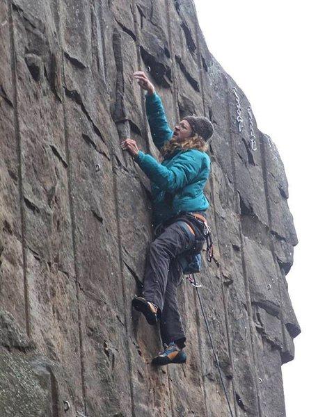 Rock Climbing Photo: multiple sax partners 5.11-