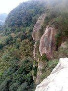 Rock Climbing Photo: From the most prominent overlook