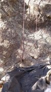 Rock Climbing Photo: It's a full 30+ meters. With rope stretch it works...