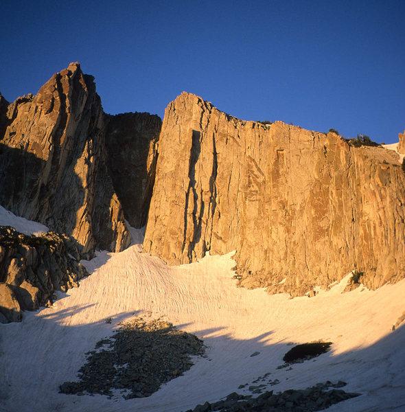South Summit, dawn