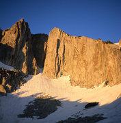 Rock Climbing Photo: South Summit, dawn