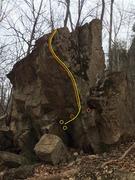 Rock Climbing Photo: Scary Arête variations.
