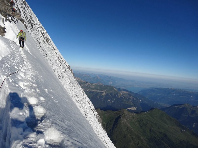 Rock Climbing Photo: Eiger Mittellegi Ridge