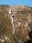 Rock Climbing Photo: Shoestring - Right of Landslide