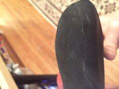 Rock Climbing Photo: Left foot toe