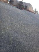 Rock Climbing Photo: Grey Wave Wall