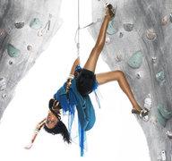 Rock Climbing Photo: girl