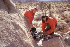 Rock Climbing Photo: 1974... haircuts