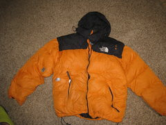 Rock Climbing Photo: North Face Puffy Jacket (more pics on ebay)