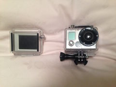 Go Pro and attachable screen