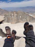 Rock Climbing Photo: Top Of Mt. Whitney