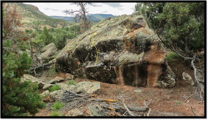 Rock Climbing Photo: Mathematical Meditation problem beta.