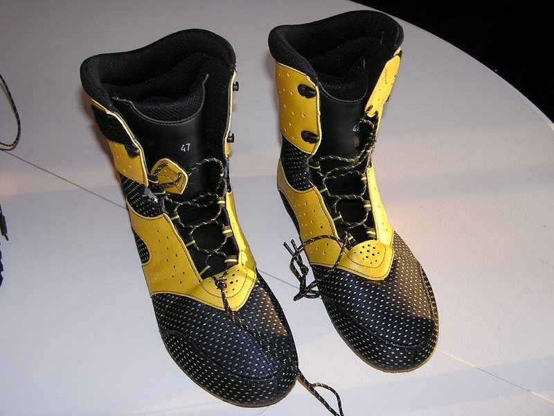 Rock Climbing Photo: Spantix inner boots