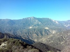 Rock Climbing Photo: Keller Peak from the south, San Bernardino Mountai...