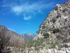 Rock Climbing Photo: Santa Ana River Canyon, San Bernardino Mountains