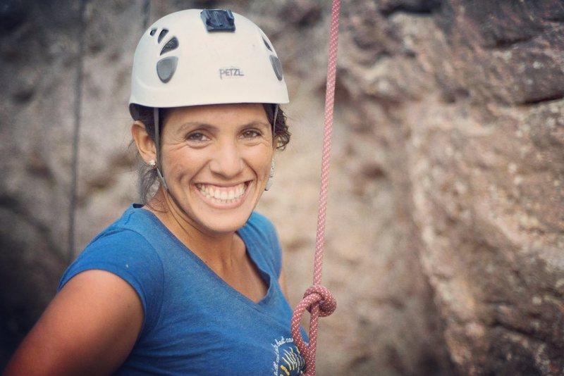 Rock Climbing Photo: Nothing makes me more happy than climb!