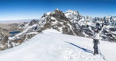 Pequeño Alpamayo summit