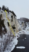 Rock Climbing Photo: Le pilier d'en haut