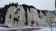 Rock Climbing Photo: La traversée