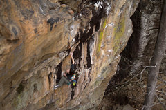"Rock Climbing Photo: ""Burned at the stake"""