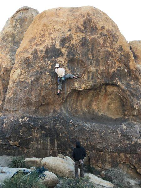 Dick Cilley, master climber.
