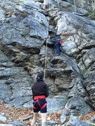 Rock Climbing Photo: I believe this is beginners crack.