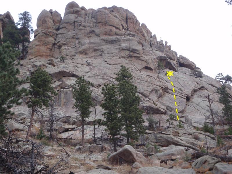 Rock Climbing Photo: Conundrum.