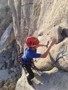 Rock Climbing Photo: Schoolroom Direct, Little Cottonwood Canyon