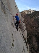 Rock Climbing Photo: Schoolroom Direct, Little Cottonwood Canyon, UT