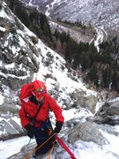 Rock Climbing Photo: Great White Icicle, Little Cottonwood Canyon