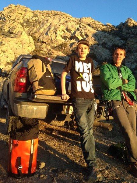 Rock Climbing Photo: West Desert First Ascents