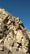 Rock Climbing Photo: Pinnacle Toprope, South face at Neat Rock.