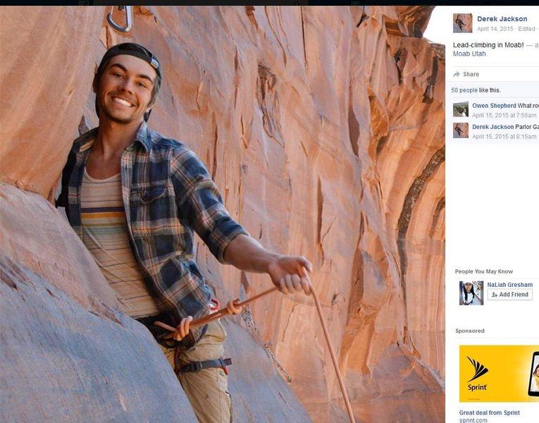 Rock Climbing Photo: #GREATLEADBRAJ