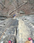 Rock Climbing Photo: Topped out on WMA