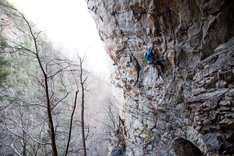 Rope Soloing the Predator
