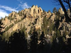 Rock Climbing Photo: From CR-14.
