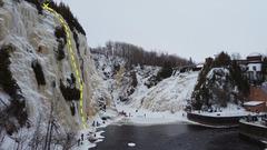 Rock Climbing Photo: Les Cèdres