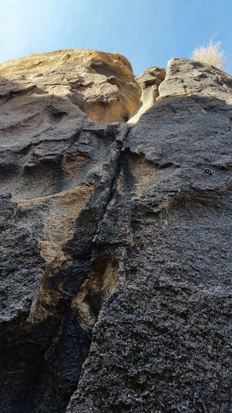 Rock Climbing Photo: Sneak Preview of 3 routes. Little Teepee (Right), ...