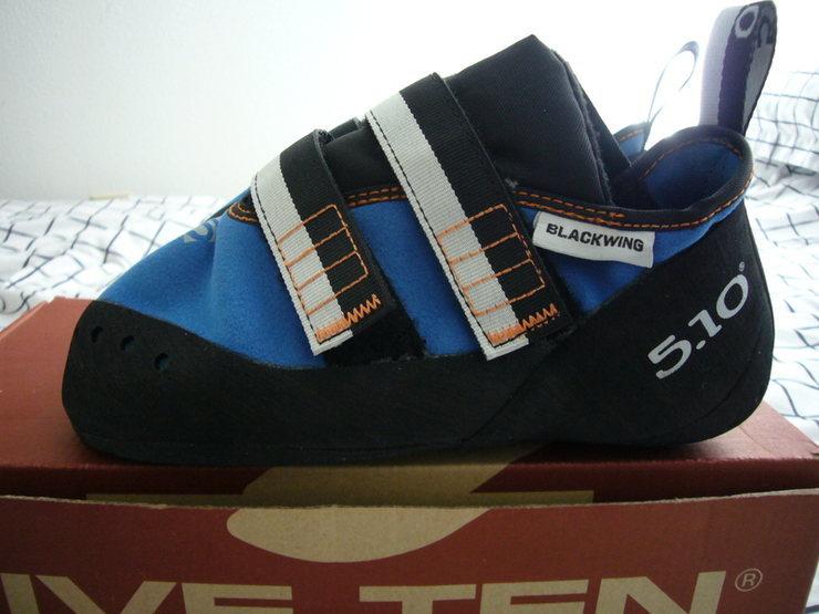 Left shoe profile