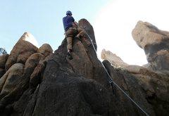 Rock Climbing Photo: Short climb up beetle bug.