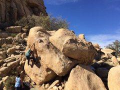 Rock Climbing Photo: Look snow. pc: Kyle Noyes