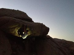 Rock Climbing Photo: Mantle fun.