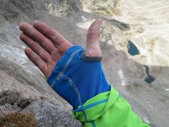 Rock Climbing Photo: warm hands