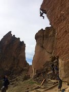 Rock Climbing Photo: Awesome showstopping climb!
