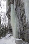 Rock Climbing Photo: Aqua azura - Start