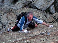 Rock Climbing Photo: Kim strollin' up Get Your Fixe