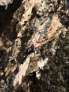 Rock Climbing Photo: Simon Longacre on Boy Wonder.