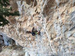 Rock Climbing Photo: Ben Yardley on Caped Crusader.