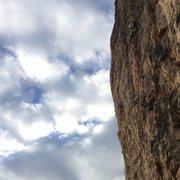Rock Climbing Photo: William Mondragon on Blood Dries Darker.  Photo: L...